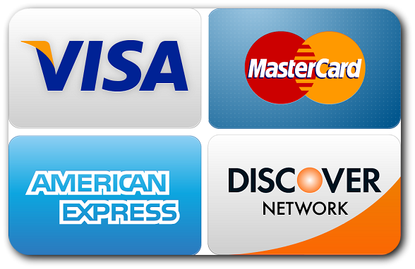 We accept major credit cards at Gladnick Family & Cosmetic Dentistry